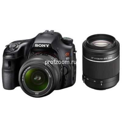 Sony Alpha SLT-A65 Kit 18-55+55-200