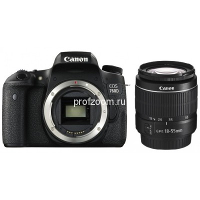 Canon EOS 760D kit 18-55 is stm